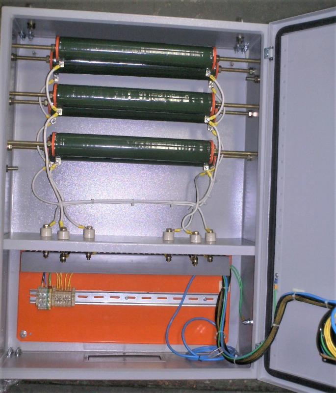 Resistor de aterramento para gerador